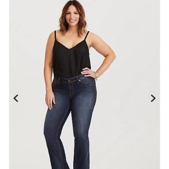 "Torrid Brand ""Source Of Wisdom"" Blue Jeans"